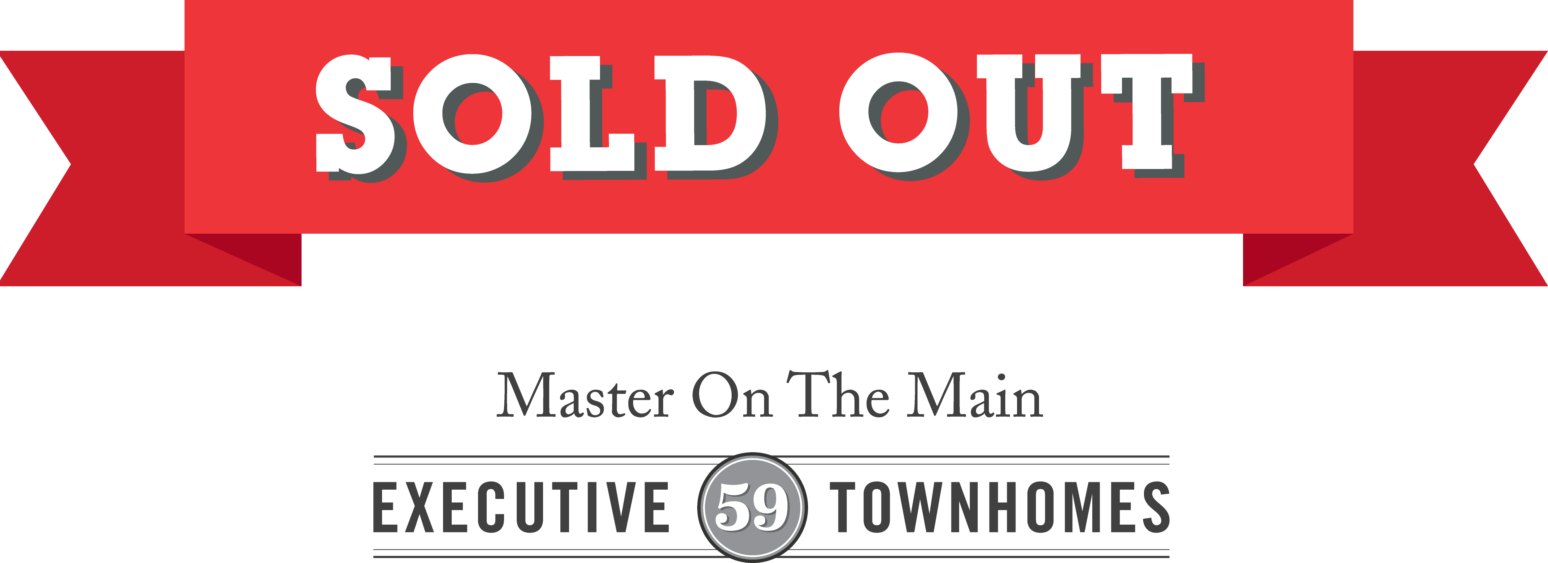 Heritage sold out banner
