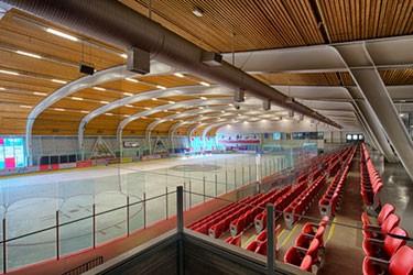 view of hockey rink
