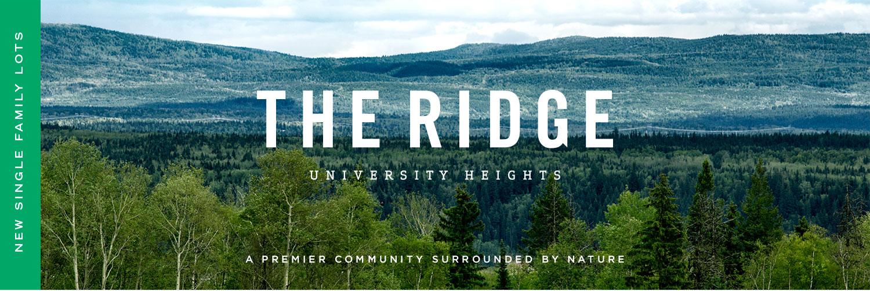 the ridge banner